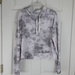 The Lounge Life Super Soft Tie Dye Hoodie Large